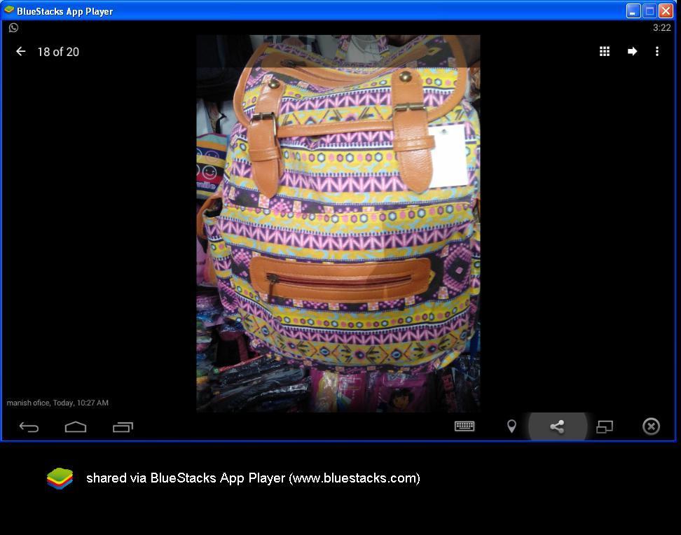 Canvas Multicolour Cotton Sling College Bag Body Shoulder Bags