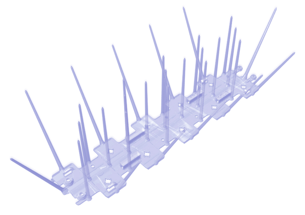 Bird Spikes   Bird Proofing Spikes, Pigeon Control Spikes  20 Pcs. Pack