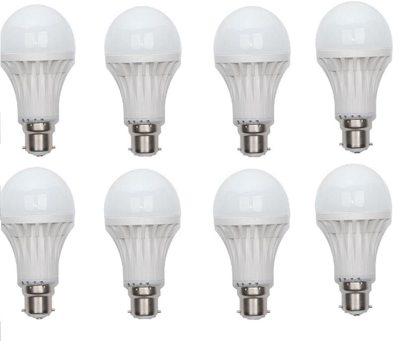 OE LED Bulbs  Set of 8 pcs   3W 2pcs, 5W 2pcs, 7W 2pcs, 9W 2pcs