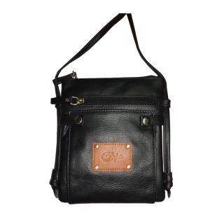 Style 98 Womens Sling Bag HandBag Messenger Bags Satchel Bag   Black 45005IA