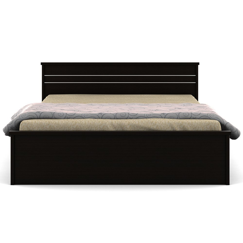 Spacewood Carnival Queen Size Bed without Storage
