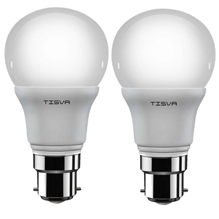 Tisva Led Bulb 10W B22d Cool Day Light ( Pack of 2 ) Image