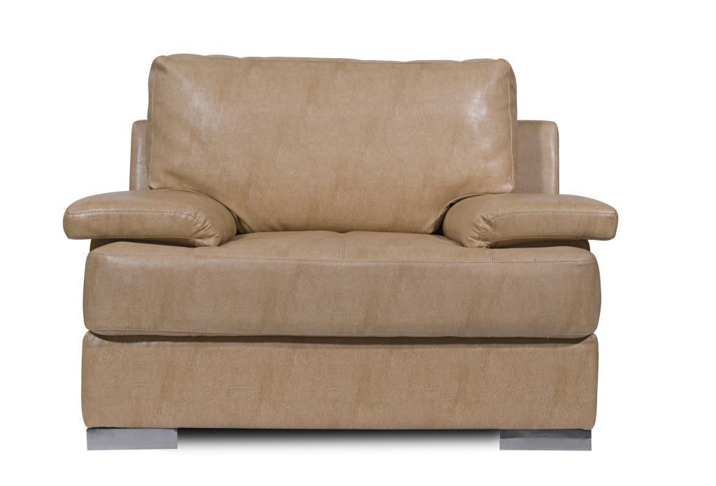 Mirly Beige Sofa Set 2 Seater