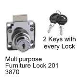 Godrej Shakti Multipurpose Furniture Lock  7+1