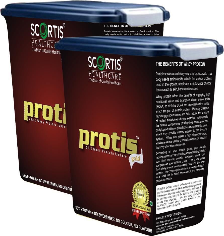 Protis Gold - 100% Whey Protein Isolate
