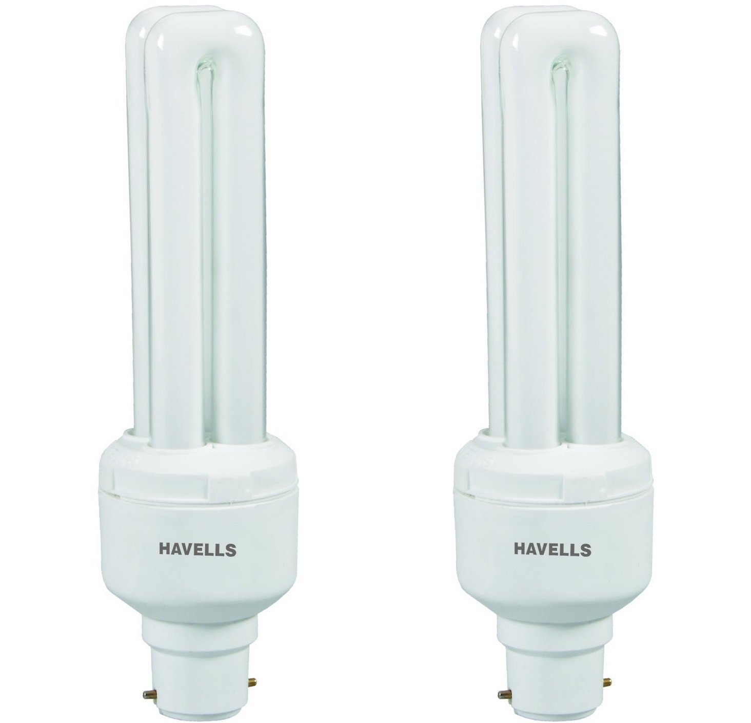 Havells DU B-22 15-Watt CFL Bulb (Cool Day Light and Pack of 2) Image