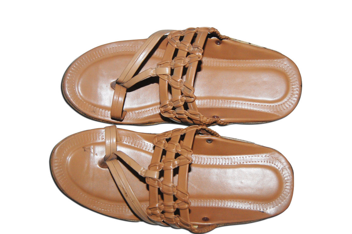 67f5837390 Rexine And Leather Gents Chappal Best Deals With Price Comparison ...