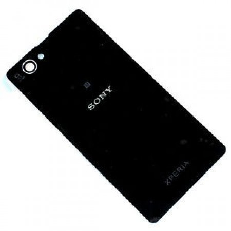 Sony Xperia Z1 Compact Battery Door Back Panel Cover   Black