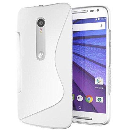 Premium S line Silicone Back Cover For Motorola Moto G  3rd gen