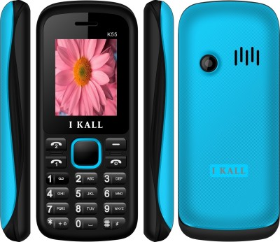 IKall K55 BLACKBLUE 1.8 InchDual Sim Made in India