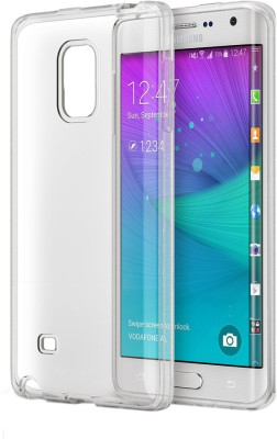 Snaptic Samsung Galaxy Note Edge Soft Transparent Back Cover