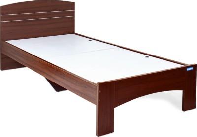Sr Furniture Engineered Wood Single Bed Finish Color   Walnut Rigato Woodpore