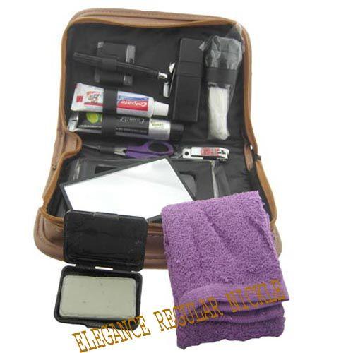 MENS KIT Shaving Kit Travel Bag Pack Mens (ELEGANCE REGULAR NICKLE) 4edf3618e8c20