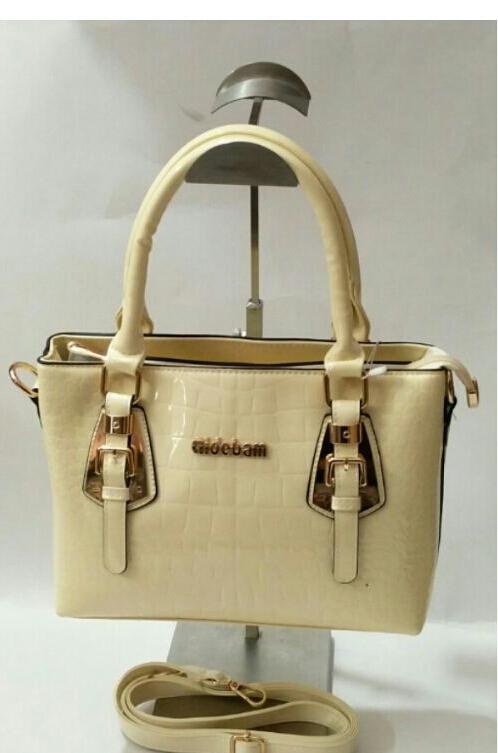Veenas Collection Ladies Shoulder Bag Cream