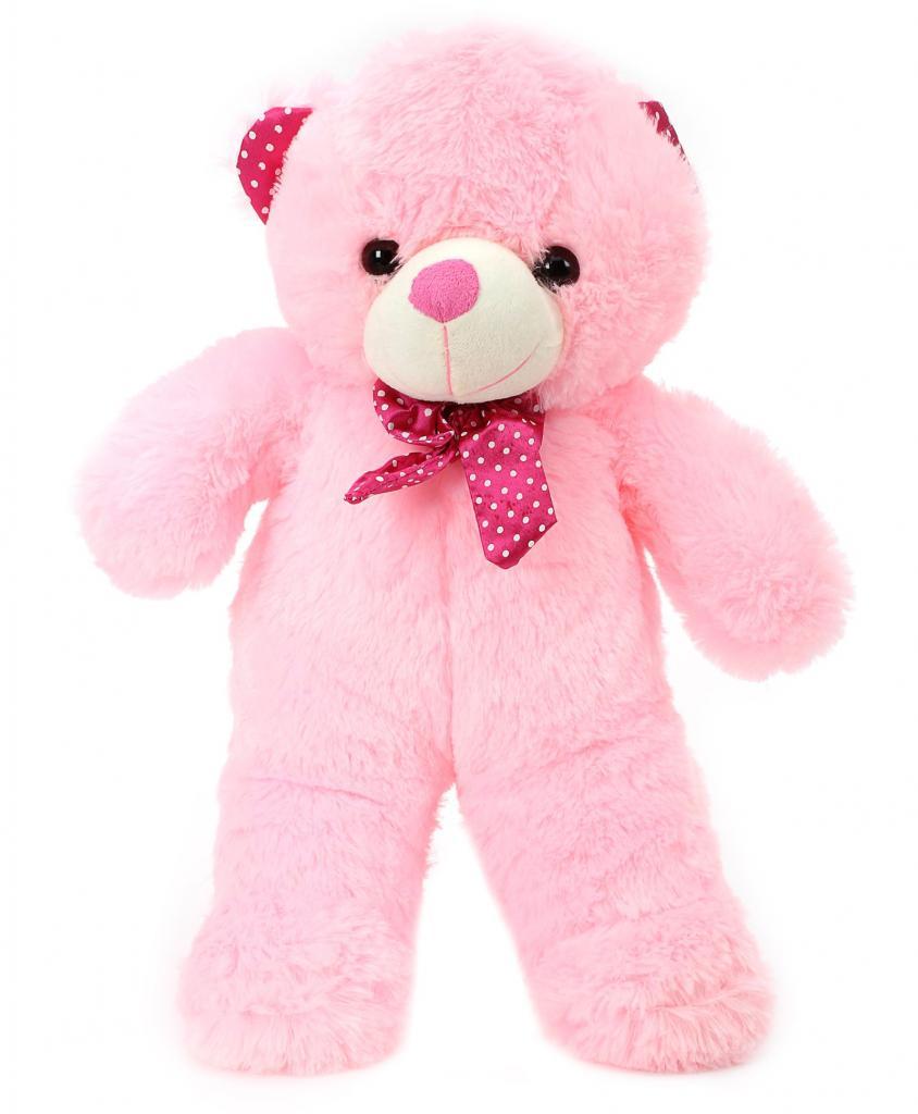 Pink Standing Teddy Stuffed Soft Plush Toy Teddy Bear 60 cm