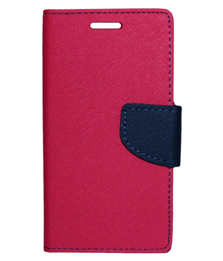 Br International Flip Cover For Motorola Moto X   Pink