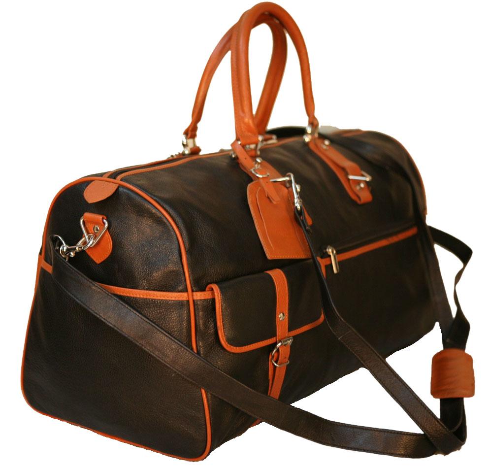100 Genuine Leather new Luggage Bag Travel Bag Tote Bag BL+TN12
