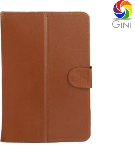 Gini Flip Cover For Datawind UbiSlate 3G7 Tablet - Brown