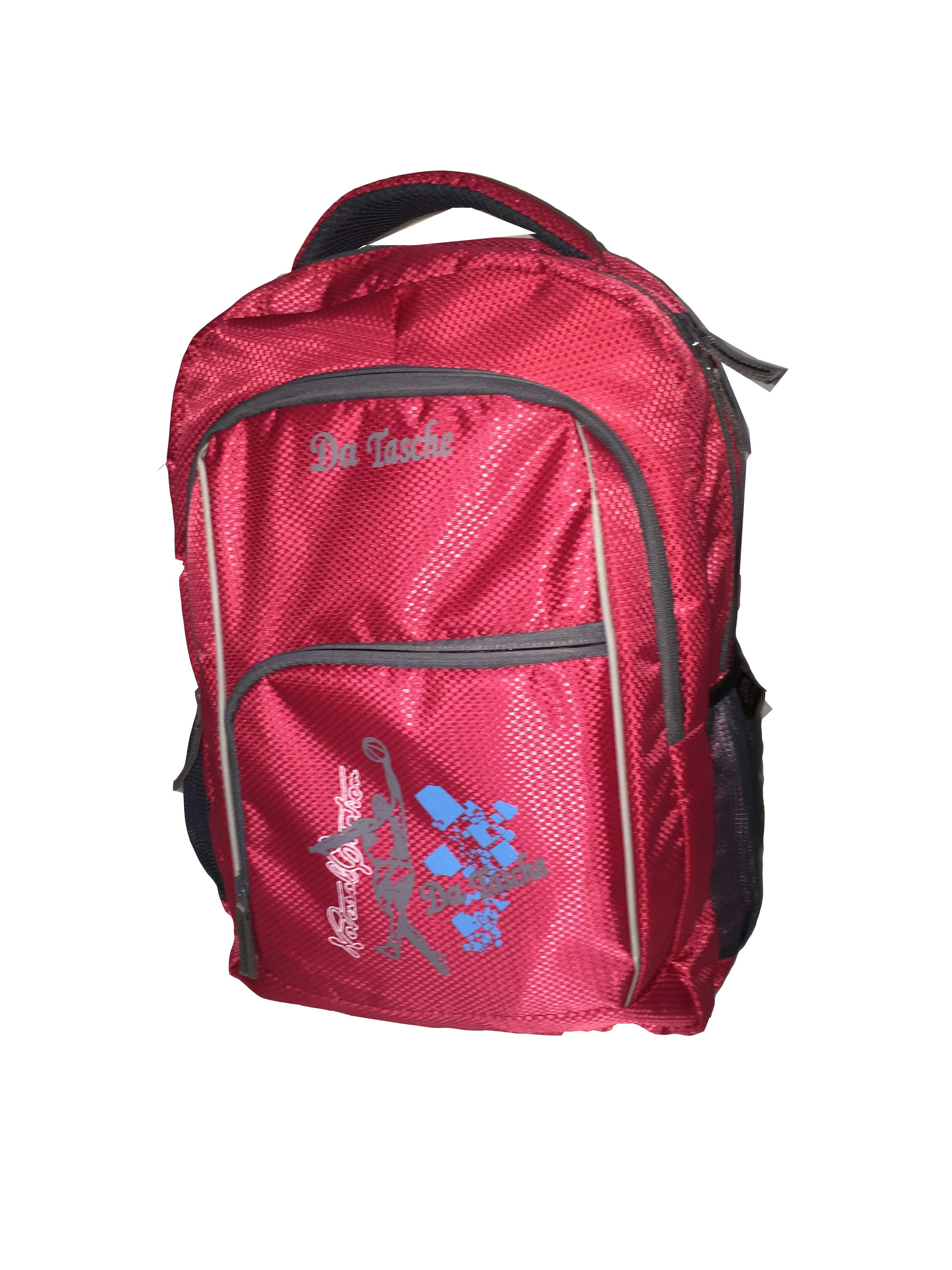 Da Tasche Red Lightweight School Bag/Backpack