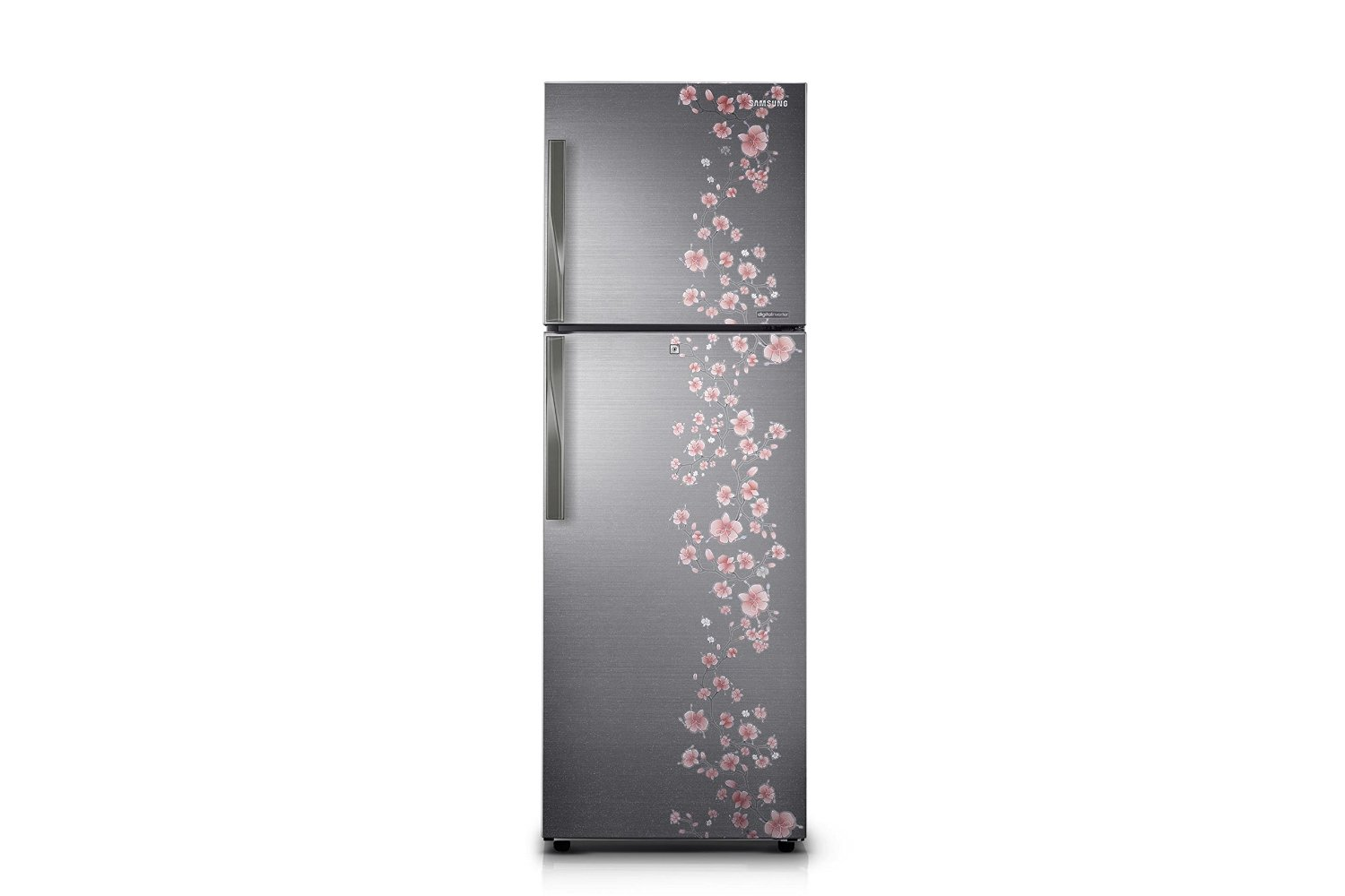 Samsung RT29HAJSALX/TL 275 Litres Double Door Frost Free Refrigerator  Orcherry Peach Silver