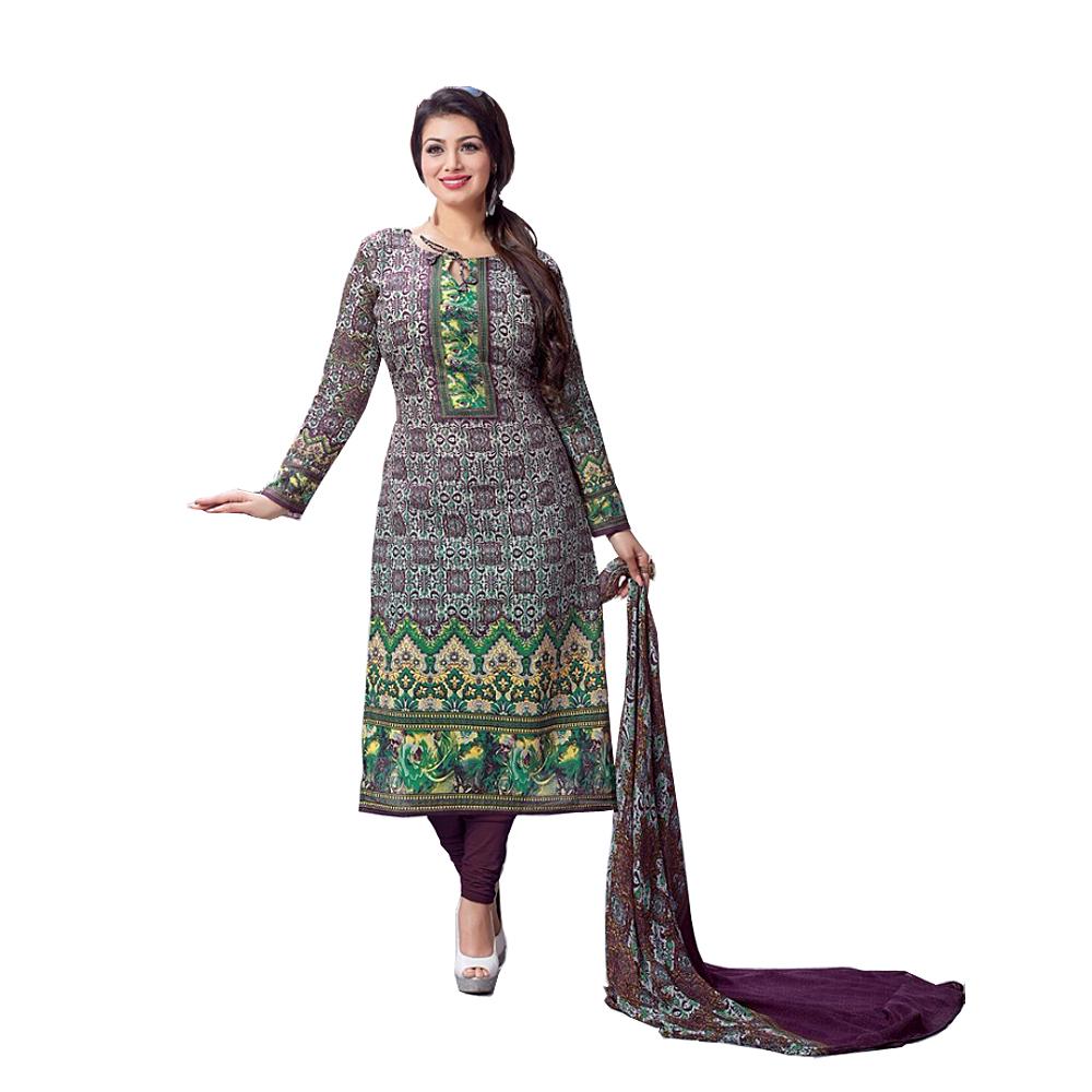 Cotton Printed Salwar Suit Dupatta Material  Unstitched