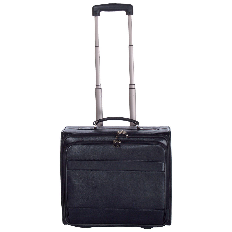 Leatherman Black Color Lafarge Laptop Trolly Bag
