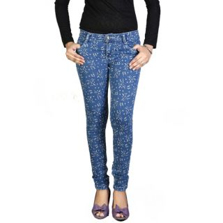 Fashion Stylus Printed Jeans