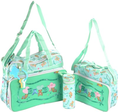 AMMANBABYSCORNER Nursery Shoulder Diaper Bag Green