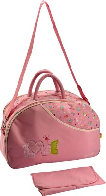 AMMANBABYSCORNER Nursery Messenger Diaper Bag Pink