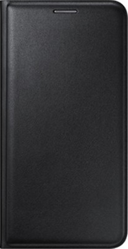 Snaptic Exclusive Black Leather Flip Cover for Redmi 2