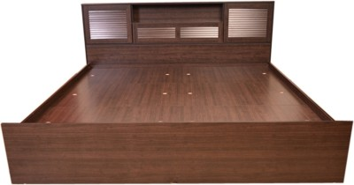 HomeTown Bali Super Engineered Wood Queen Bed With Storage