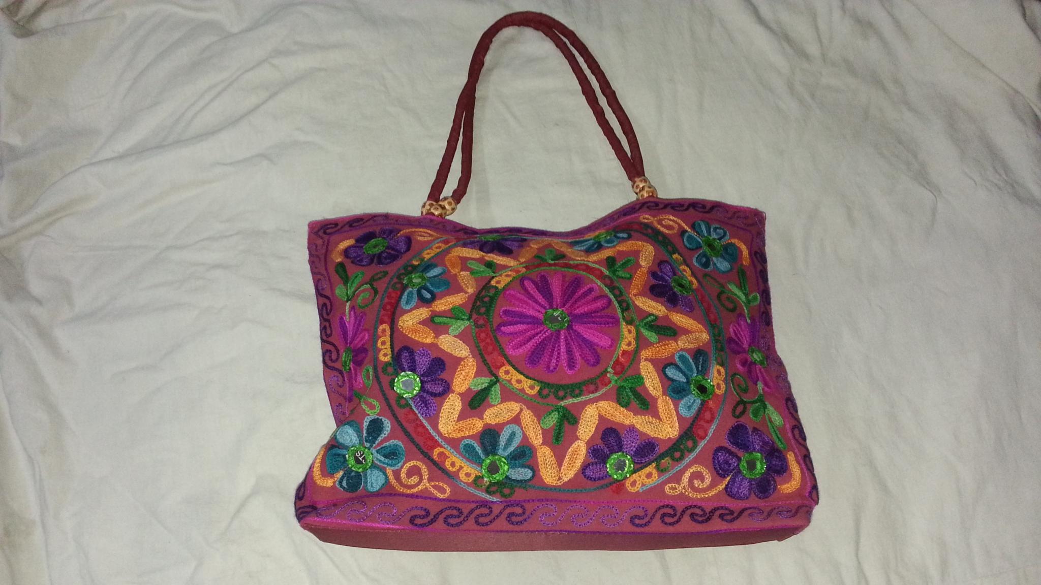 beads bag, handicrafts, gujrati hand bags