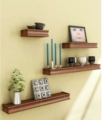 Solid Wood Open Book Shelf