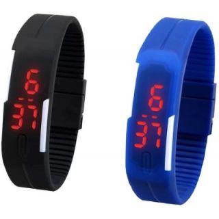 NG LED Slim Digital Combo Watch   For Boys, Men, Girls