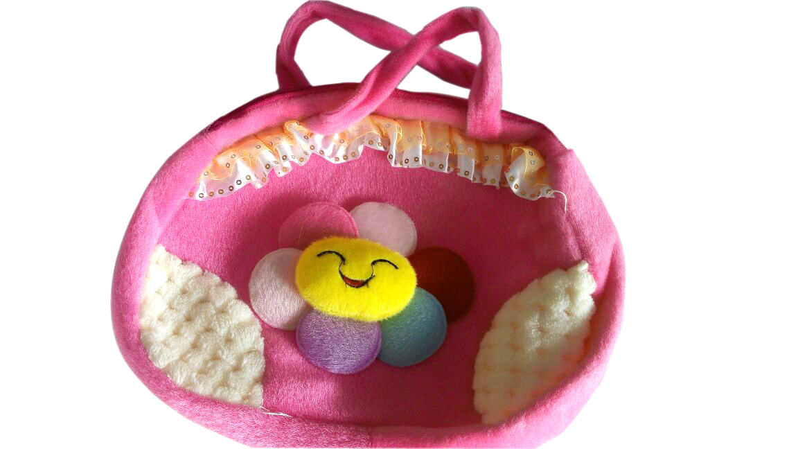 Soft School Bag Cum Side Bag for Children kids Girls Baby