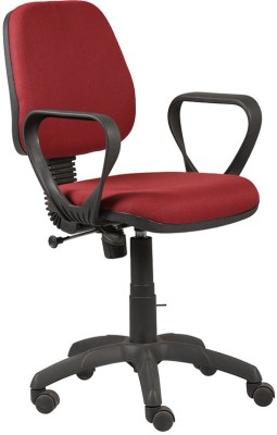 RSFURNITURE Fabric Office Chair Brand   Red