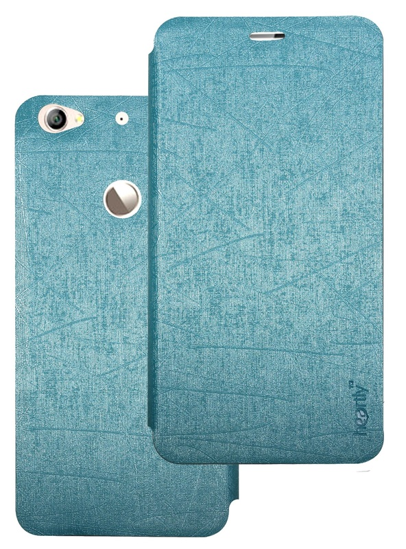 Heartly Premium Luxury PU Leather Flip Stand Back Case Cover For Letv Le 1S   Power Blue