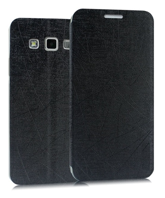 Heartly Premium Luxury PU Leather Flip Stand Back Case Cover For Samsung Galaxy J5 SM J500F Dual Sim   Best Black