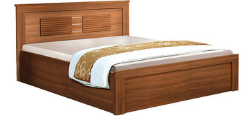 Wooden Furniture Ciara Kingsize Bed With Storage By Spacewood
