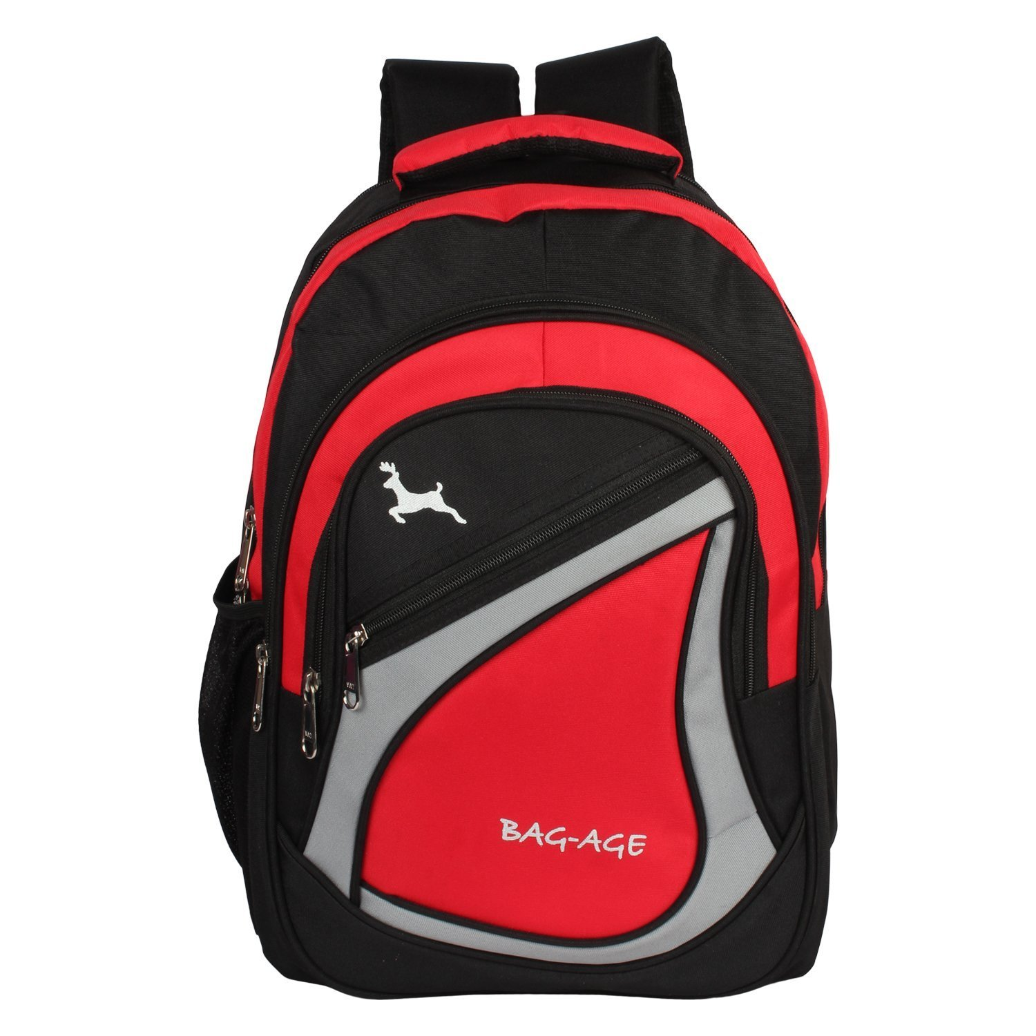 Bag Age Spicy Large Polyester 30  L  School Backpack  Red