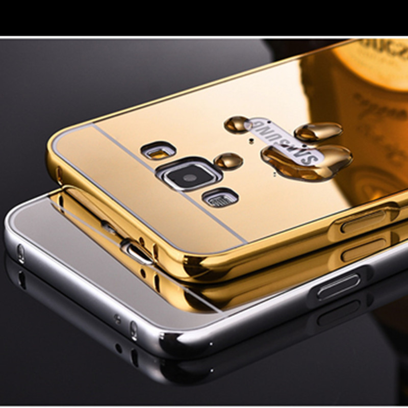 Back Cover for Samsung galaxy E7(Gold)
