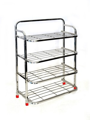 Steel Standard Shoe Rack 4 Shelves