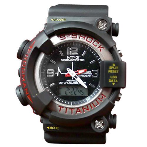 Analog   Digital Wrist Watch   S Shock   Sports watch with Alarm!!!