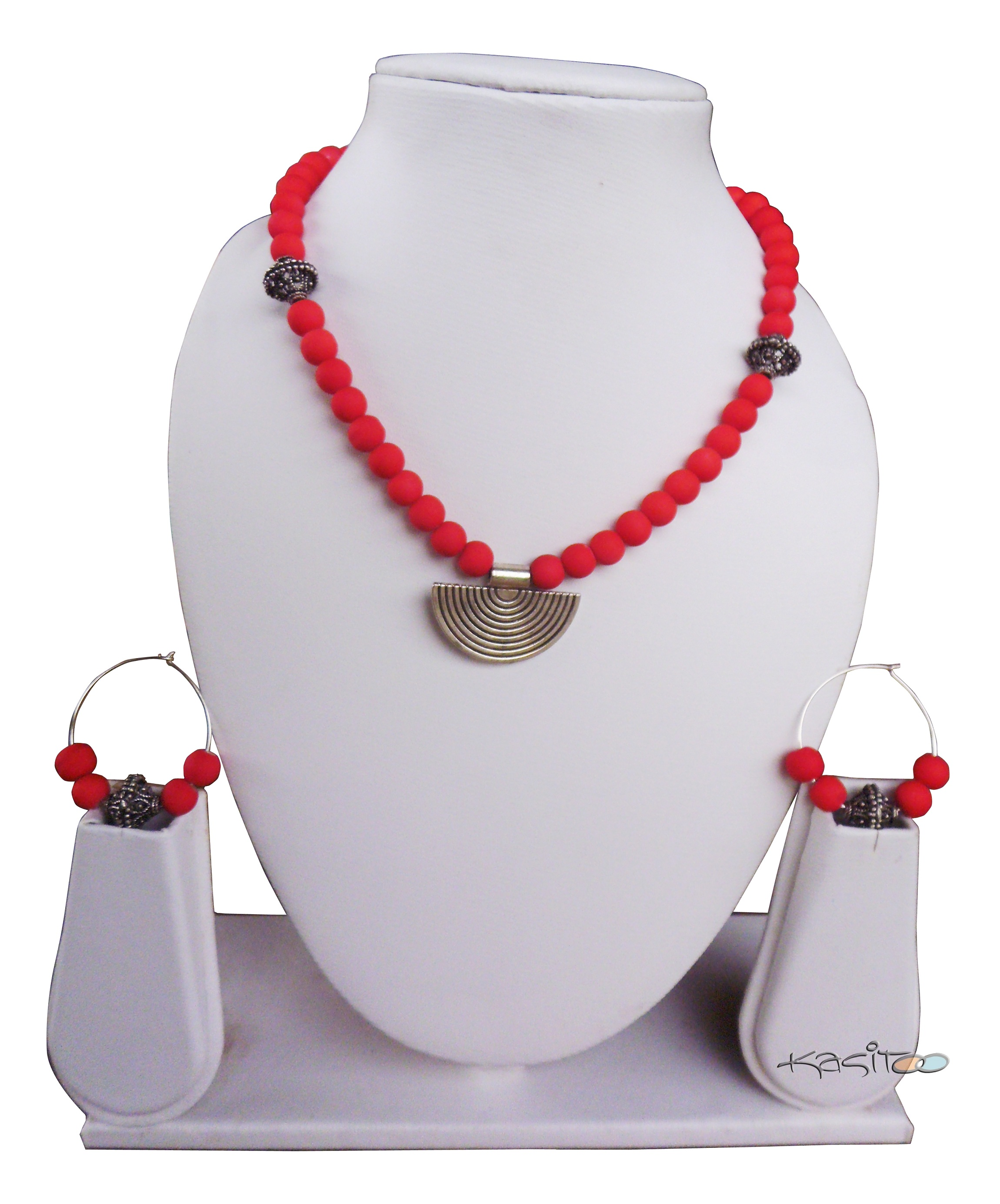 Glass Beads Jewellary Set
