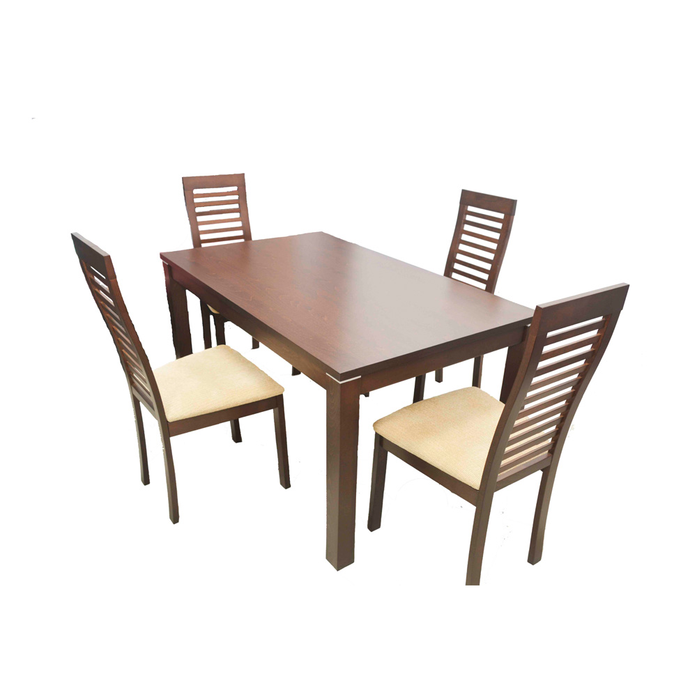 EROS Wooden Dining Table 4 Seater