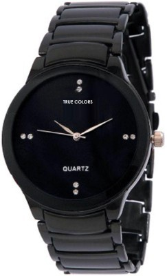 TRUE COLORS MAN IN BLACK Unique IIK Collection Analog Watch   For Boys, Men