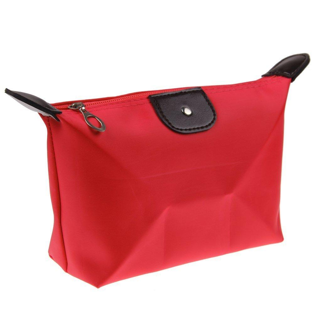 Futaba Fashion Travel Cosmetic Pouch Bag   Red