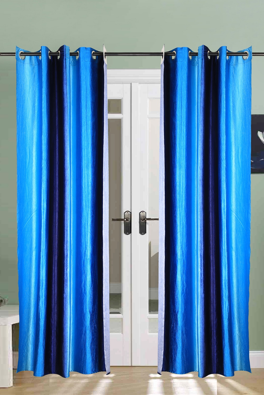 Handloom House double shade door curtain set of 2 pcs.