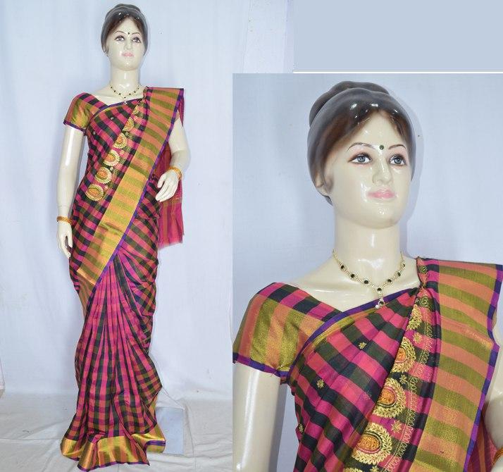 Moksh Designers Womens collection Sarees