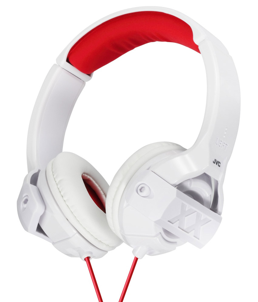 Jvc Ha M55X W Over Ear Wired Headphone Without Mic White